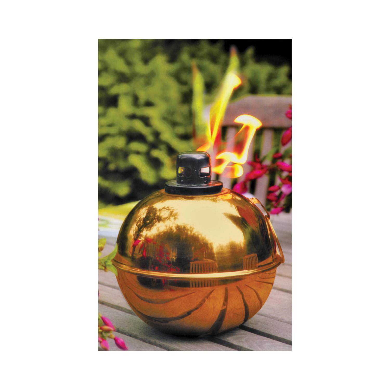Picture of Seasonal Trends GB-3709 Patio Torch, 5.3 in H, Steel+Fiberglass, Antique Bronze, Copper