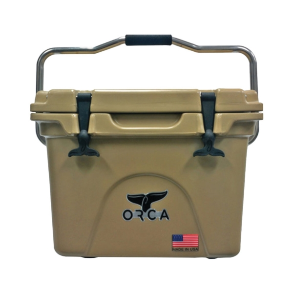 Picture of ORCA ORCT020 Cooler, 20 qt Cooler, Tan, Up to 10 days Ice Retention