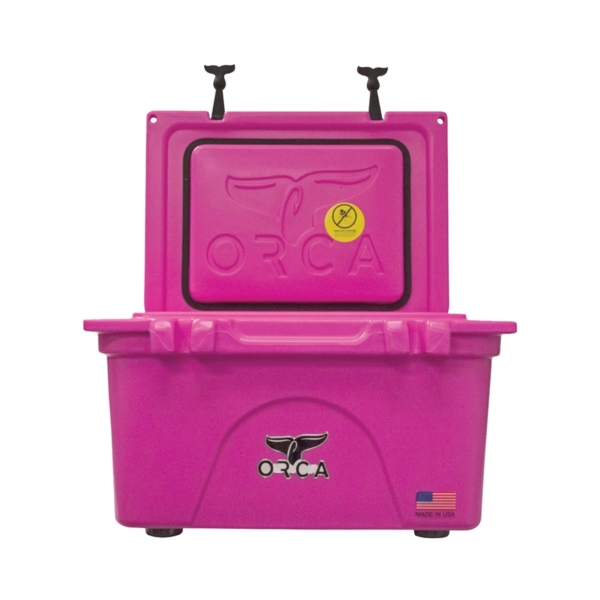 Picture of ORCA ORCP026 Cooler, 26 qt Cooler, Pink, Up to 10 days Ice Retention