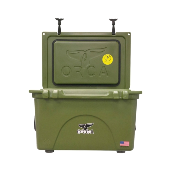 Picture of ORCA ORCG040 Cooler, 40 qt Cooler, Green, Up to 10 days Ice Retention