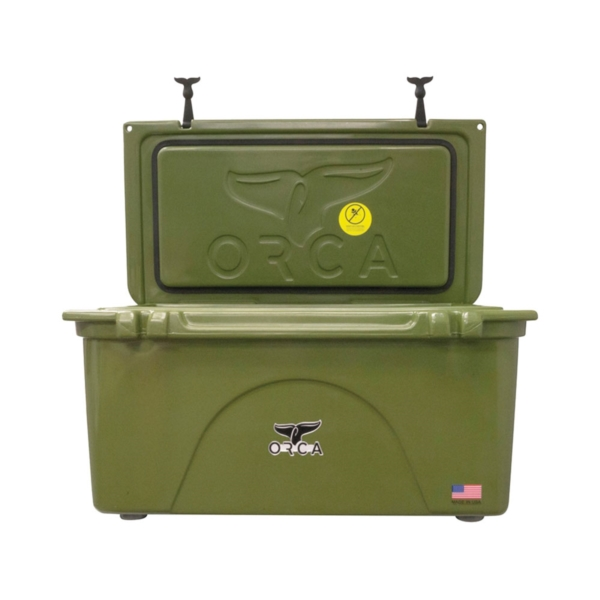 Picture of ORCA ORCG075 Cooler, 75 qt Cooler, Green, Up to 10 days Ice Retention