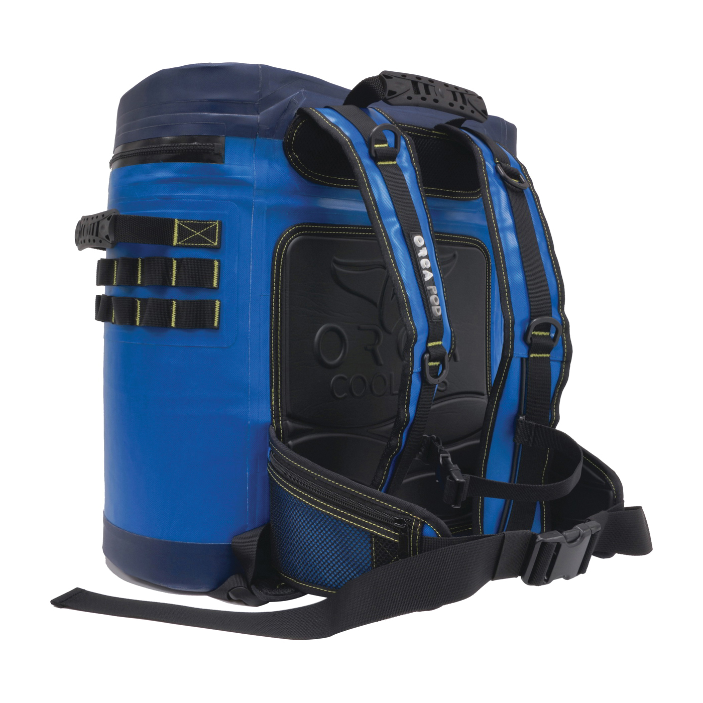 Picture of ORCA ORCPODBL Pod Cooler Backpack, 1.73 gal Cooler, Blue