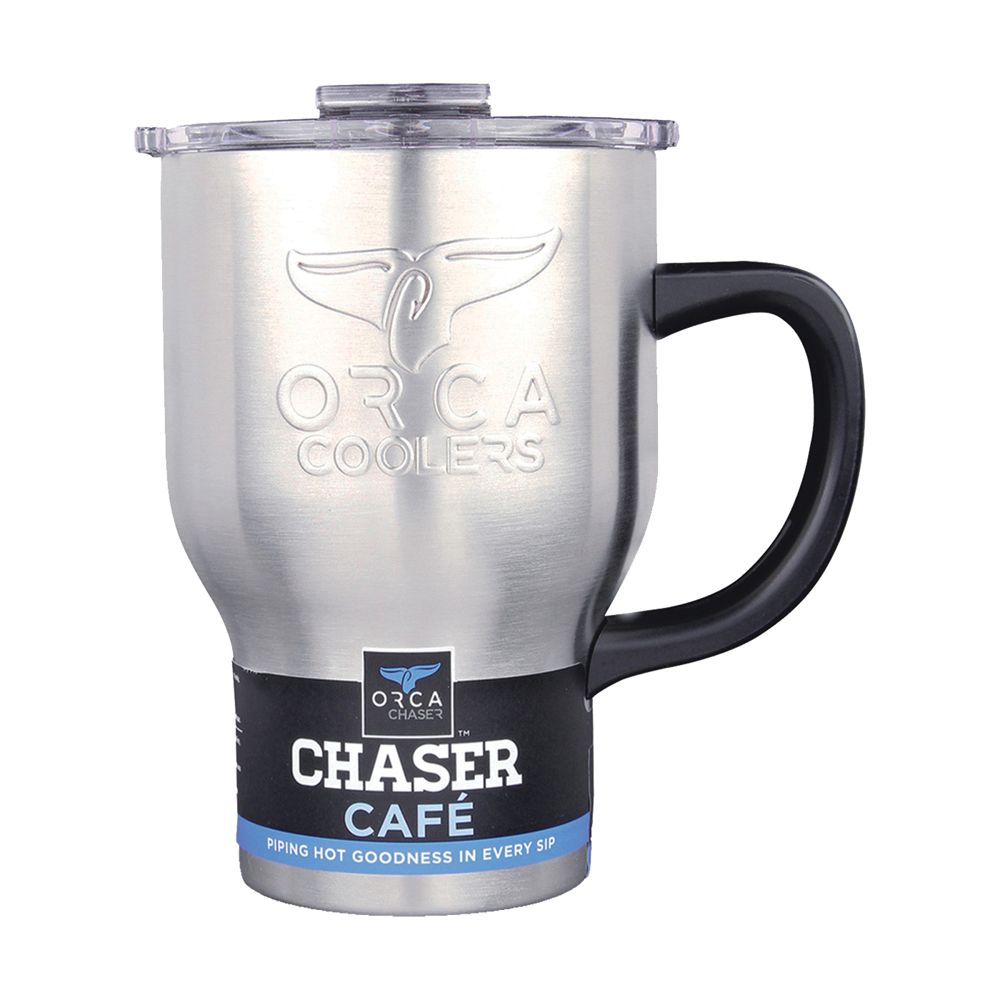 Picture of ORCA ORCCHACAF Coffee Mug, 20 oz Capacity, Stainless Steel
