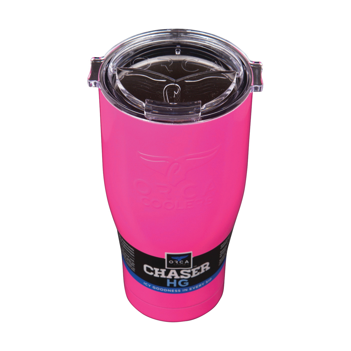 Picture of ORCA ORCCHA27PI/CL Chaser Tumbler, 27 oz Capacity, Stainless Steel, Pink