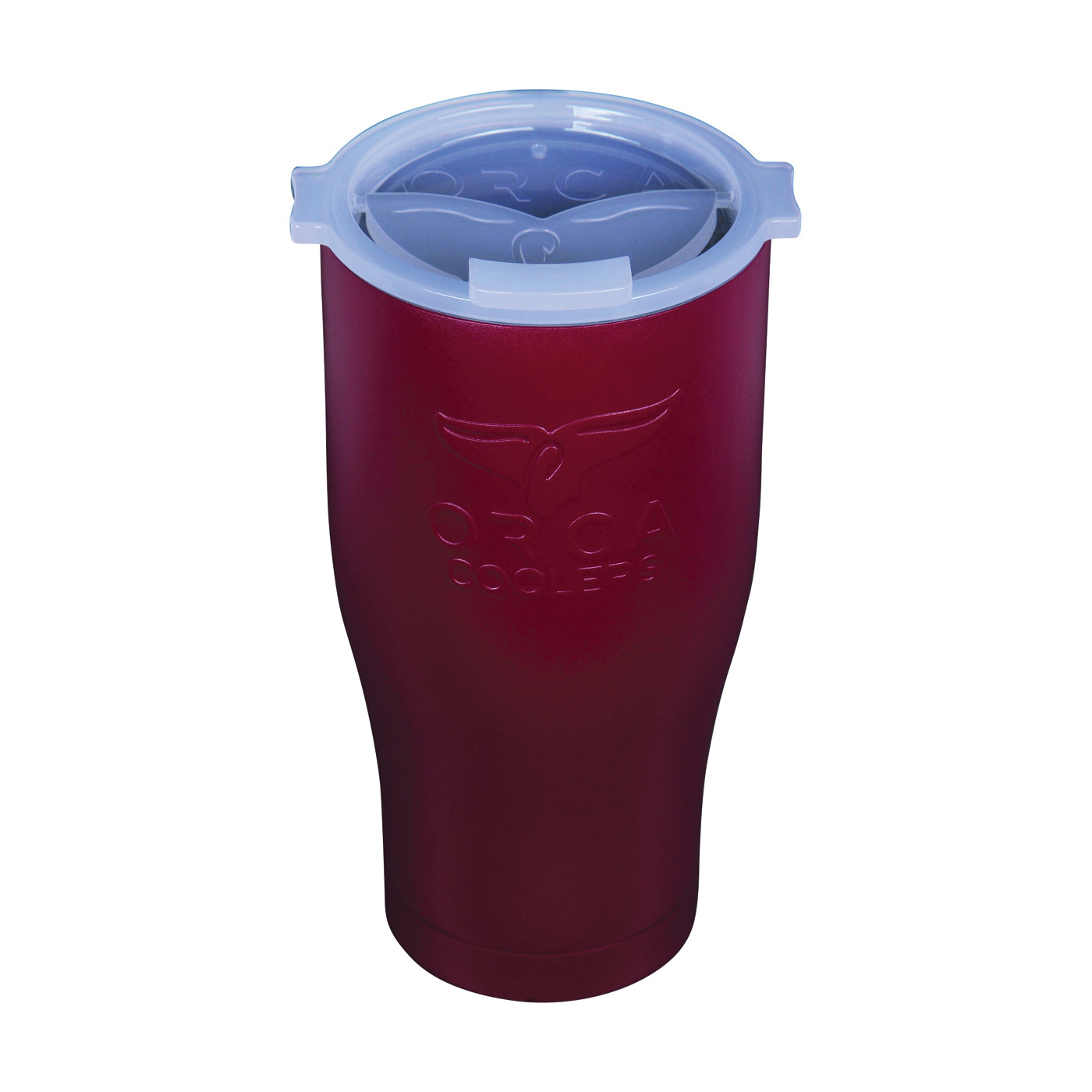 Picture of ORCA ORCCHA27DM/WH Chaser Tumbler, 27 oz Capacity, Stainless Steel, Dark Maroon
