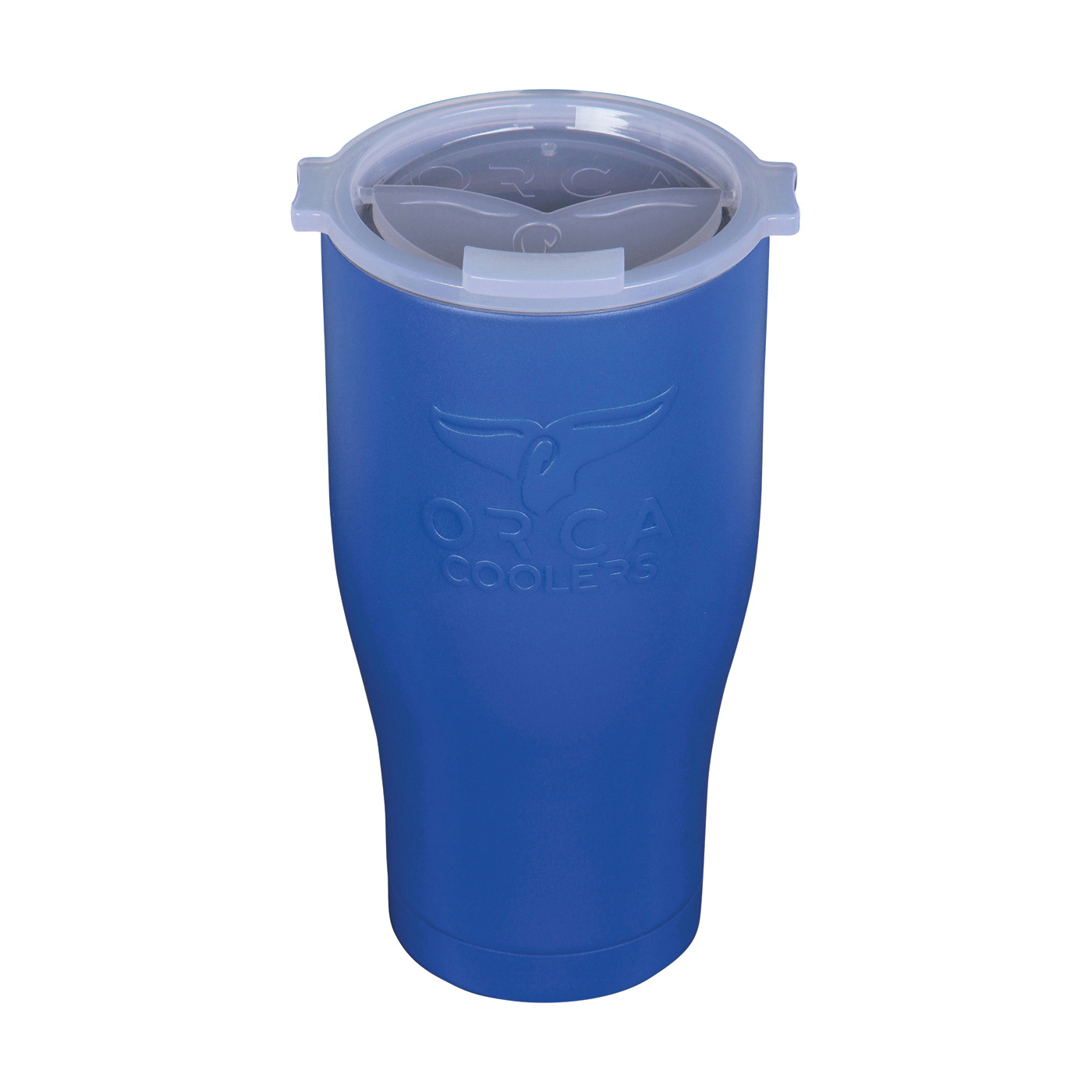 Picture of ORCA ORCCHA27BL/WH Chaser Tumbler, 27 oz Capacity, Stainless Steel, Blue