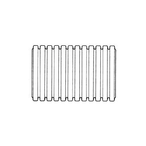 Picture of HANCOR 03510100 Single Wall Pipe, HDPE, 100 ft L