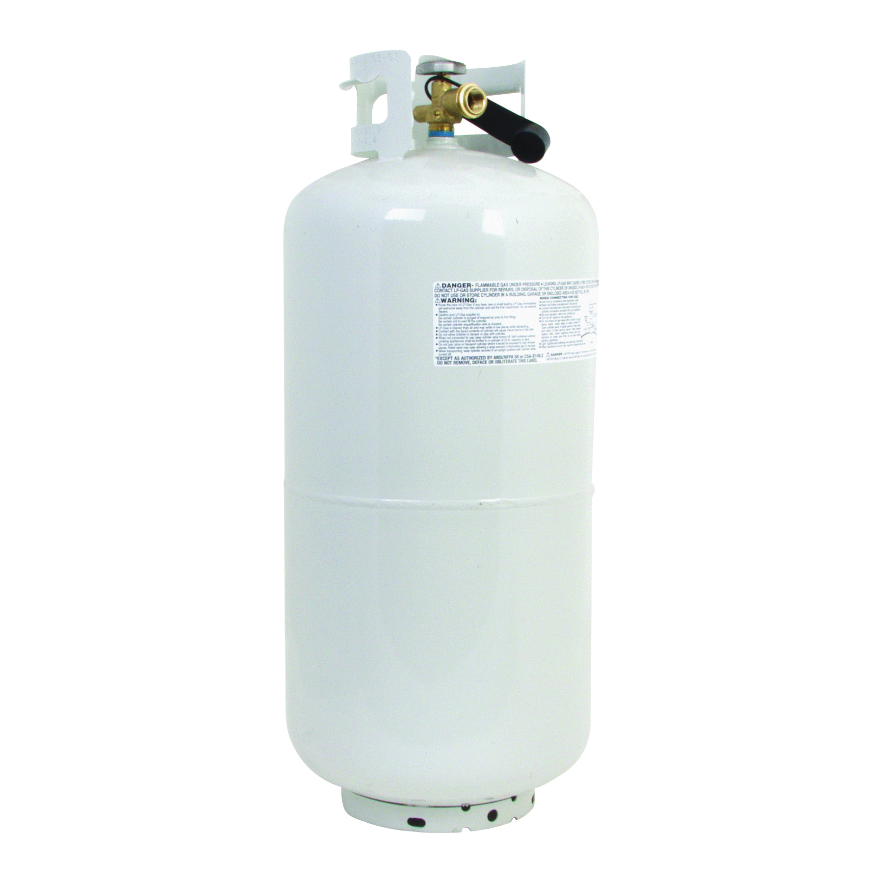 Picture of Worthington 302018 Propane Gas Cylinder, 9.4 gal Tank, Steel