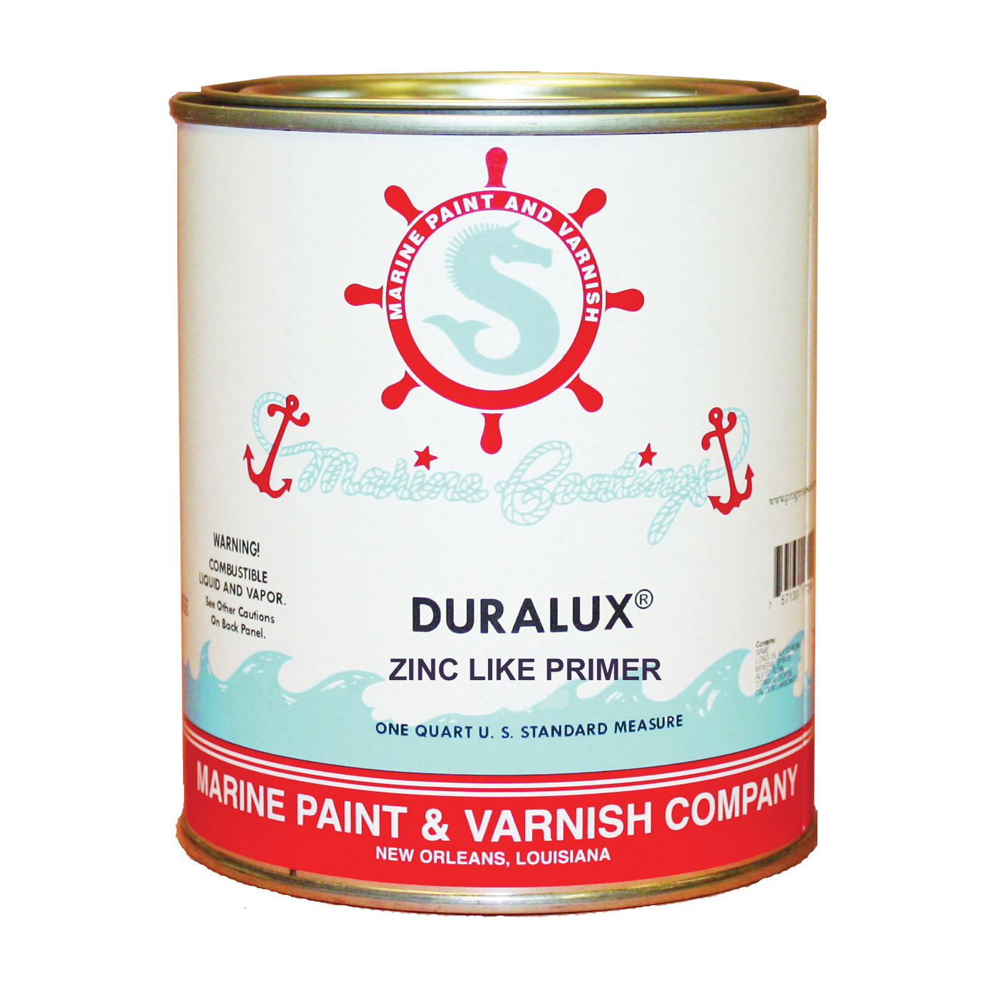 Picture of Duralux M739-4 Marine Primer, Flat, Yellow, 1 qt