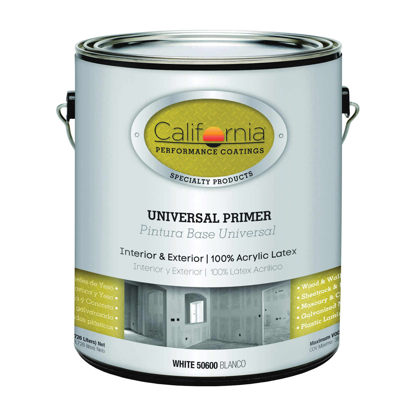 Picture of FixALL F50600-1 Primer, White, 1 gal