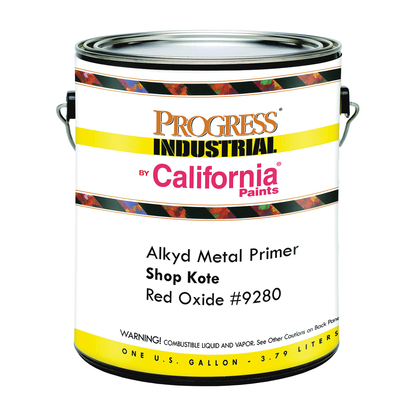 Picture of FixALL F92871-1 Shop Coat Primer, Red Oxide, 1 gal