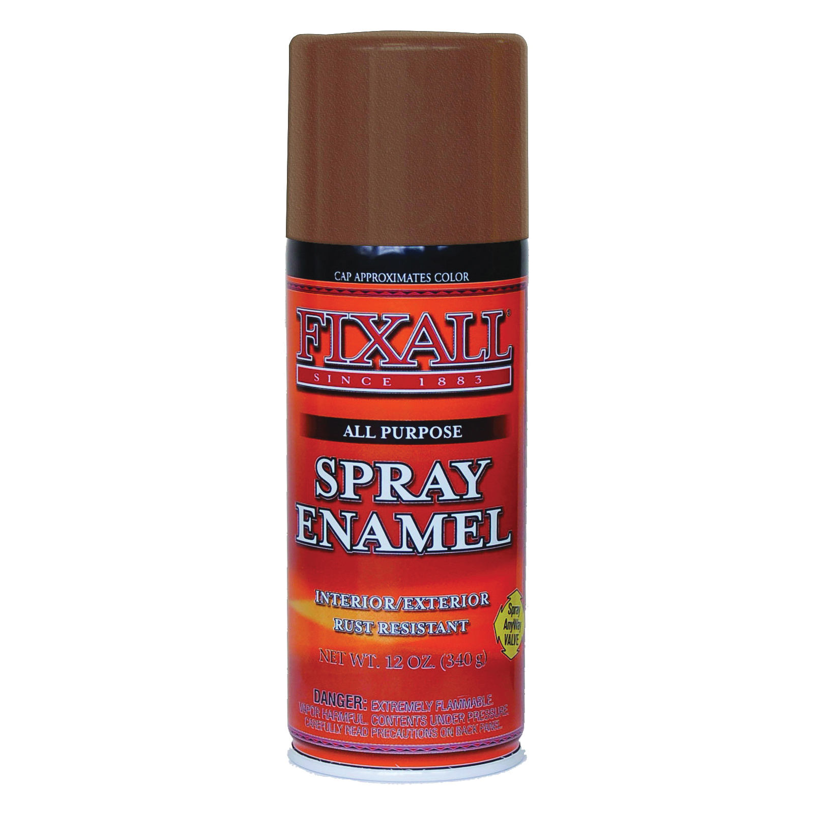 Picture of FixALL F1309 Enamel Spray Paint, Coppertone, Can
