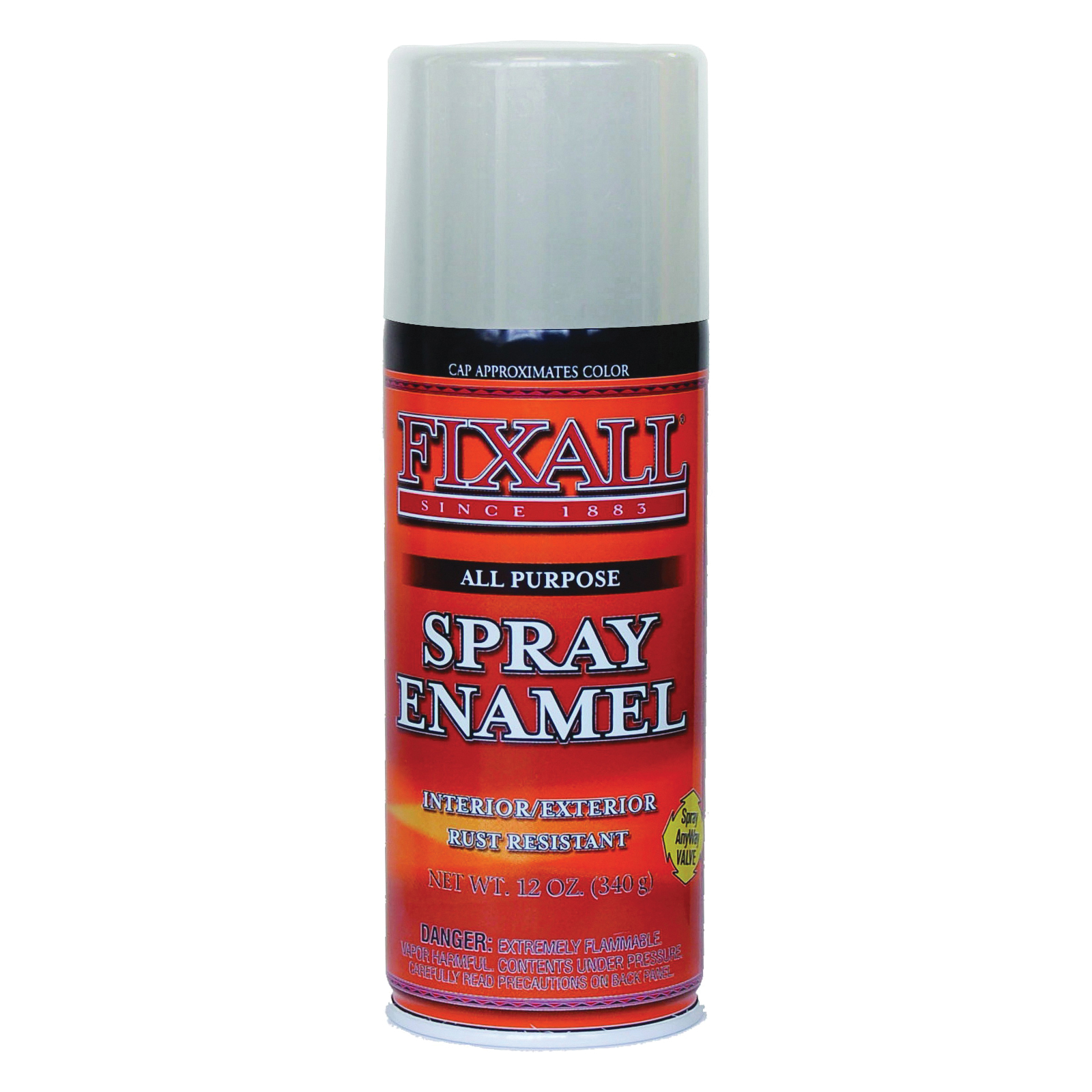 Picture of FixALL F1310 Enamel Spray Paint, Clear, Can