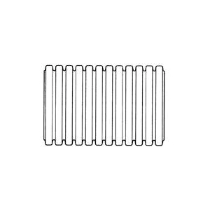 Picture of HANCOR 03010100 Single Wall Pipe, HDPE, 100 ft L
