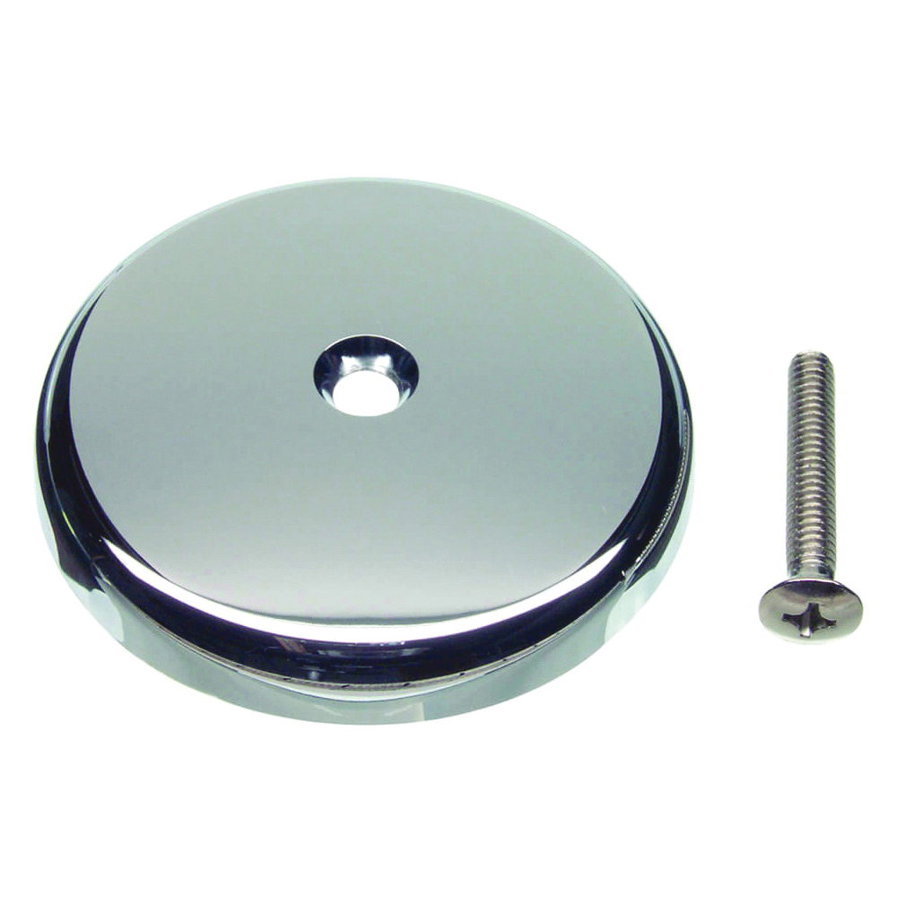 Picture of Danco 89052 Overflow Plate, Plastic/Stainless Steel, Chrome