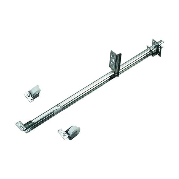 Picture of Knape & Vogt 1175P ZC 20 Drawer Slide, 50 lb, Undermount Mounting, 20 in L Rail, 1/2 in W Rail, Steel, Zinc