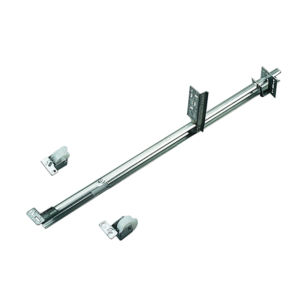 Picture of Knape & Vogt 1175P ZC 22-5/8 Drawer Slide, 50 lb, Undermount Mounting, 22-5/8 in L Rail, 1/2 in W Rail, Steel