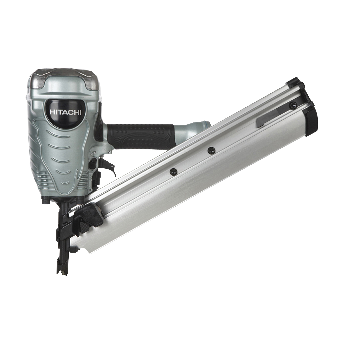 Picture of HITACHI NR90AD(S1) Framing Nailer, 50 to 74 Magazine, 35 deg Collation, Paper Tape Collation, 0.09 cu-ft/Cycle Air