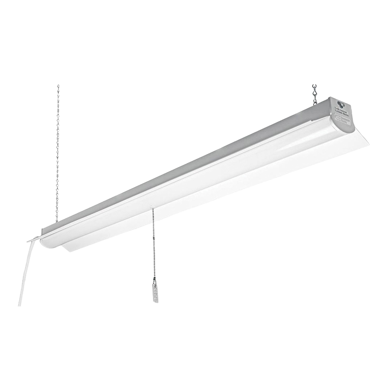 Picture of ETI 54103162 Linkable Shop Light, 120 V, 35 W, LED Lamp, 3200 Lumens, 4000 K Color Temp