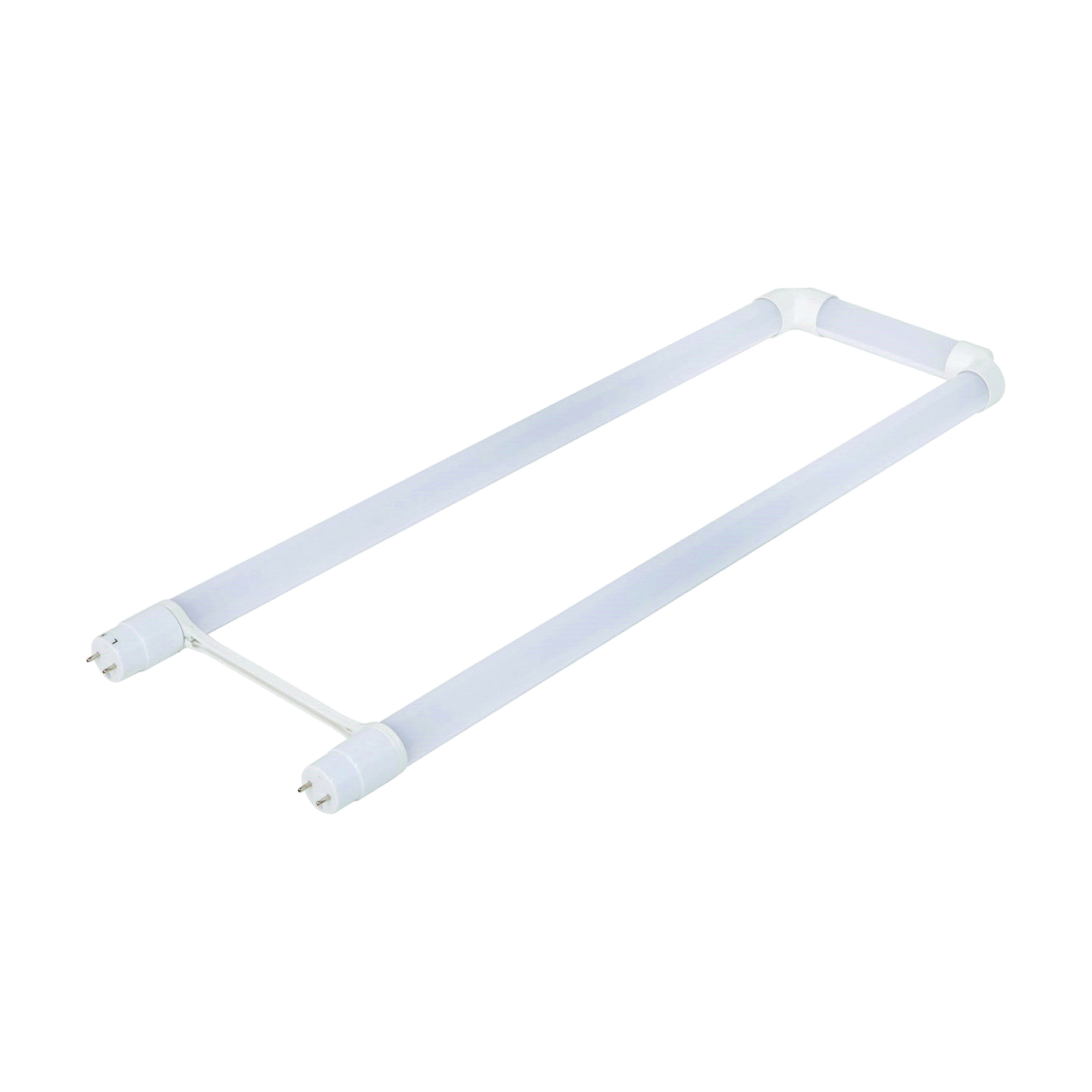 Picture of ETI 54293141 LED Tube, 15 W, G13 Lamp Base, T8 U-Bent Lamp, Cool White Light, 1800 Lumens, 4000 K Color Temp