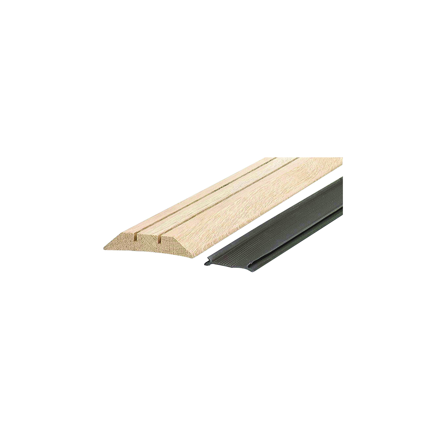 Picture of M-D 11783 Threshold with Seal, 36 in L, 3-1/2 in W, Hardwood, Unfinished