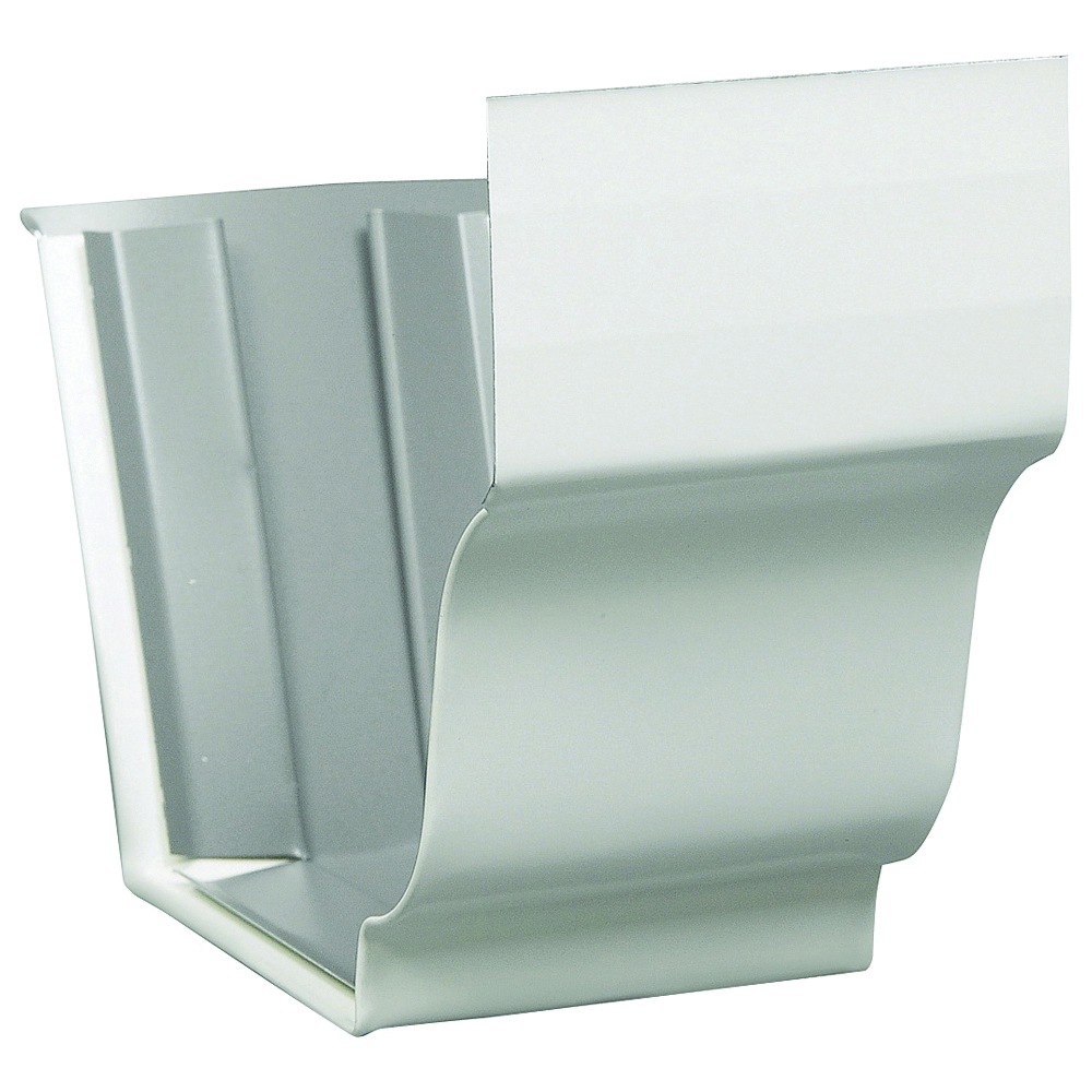 Picture of Amerimax 27209 Gutter Connector, Aluminum, White