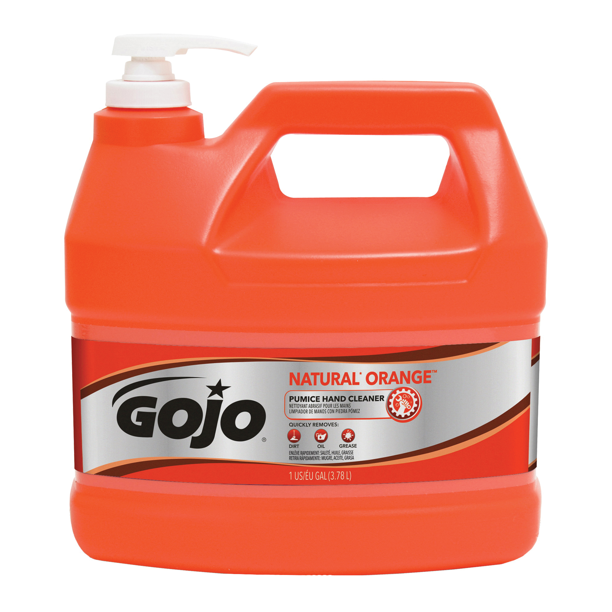 Picture of GOJO 0955-02 Hand Cleaner, Liquid, Citrus, 1 gal Package, Bottle
