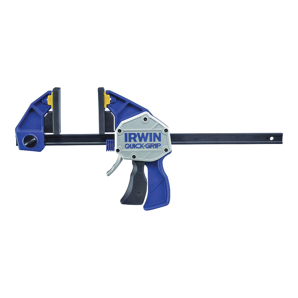 Picture of IRWIN QUICK-GRIP 1964712/2021412N Bar Clamp/Spreader, 600 lb, 12 in Max Opening Size, 3-5/8 in D Throat