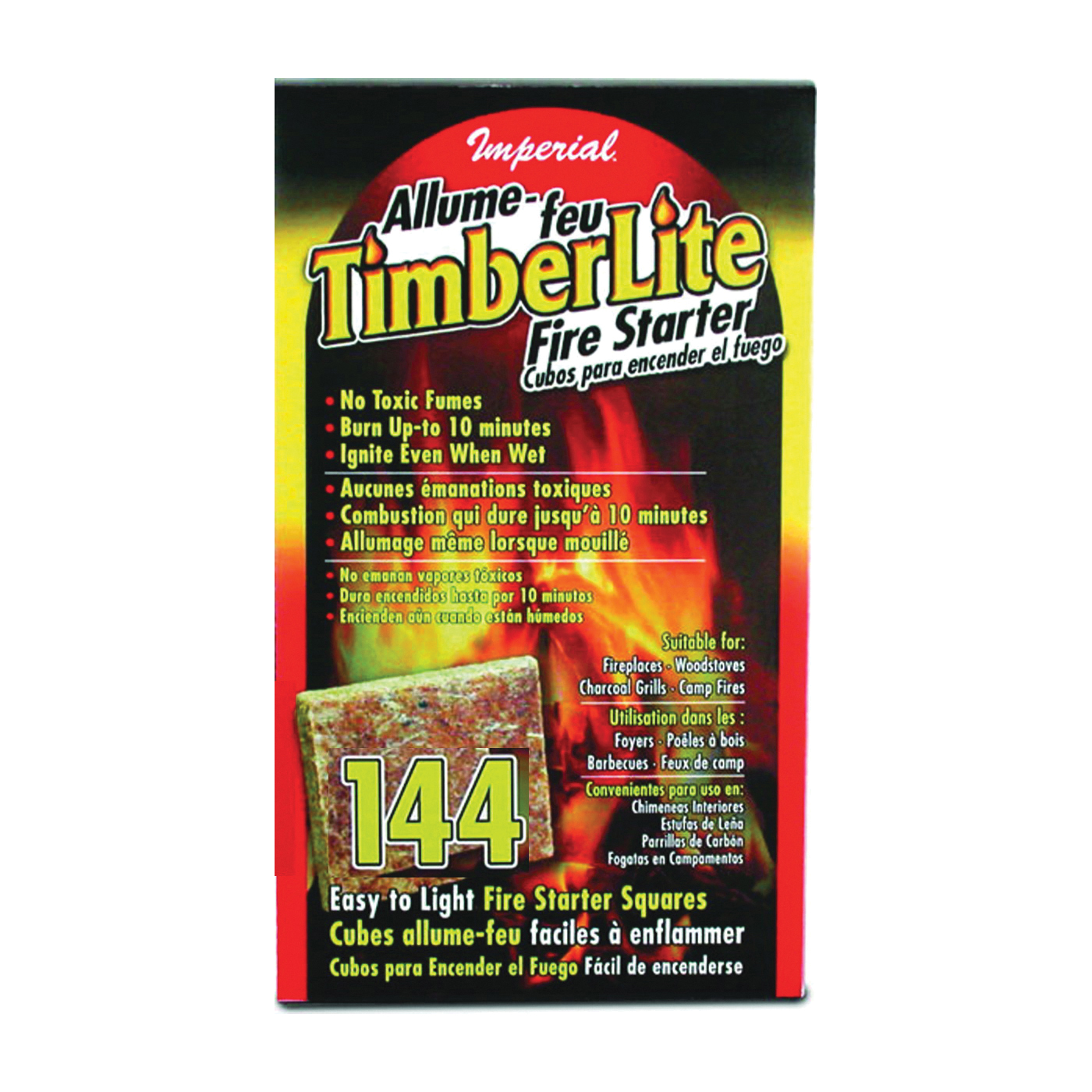 Picture of Imperial KK0313 Fire Starter Square Carton, Carton