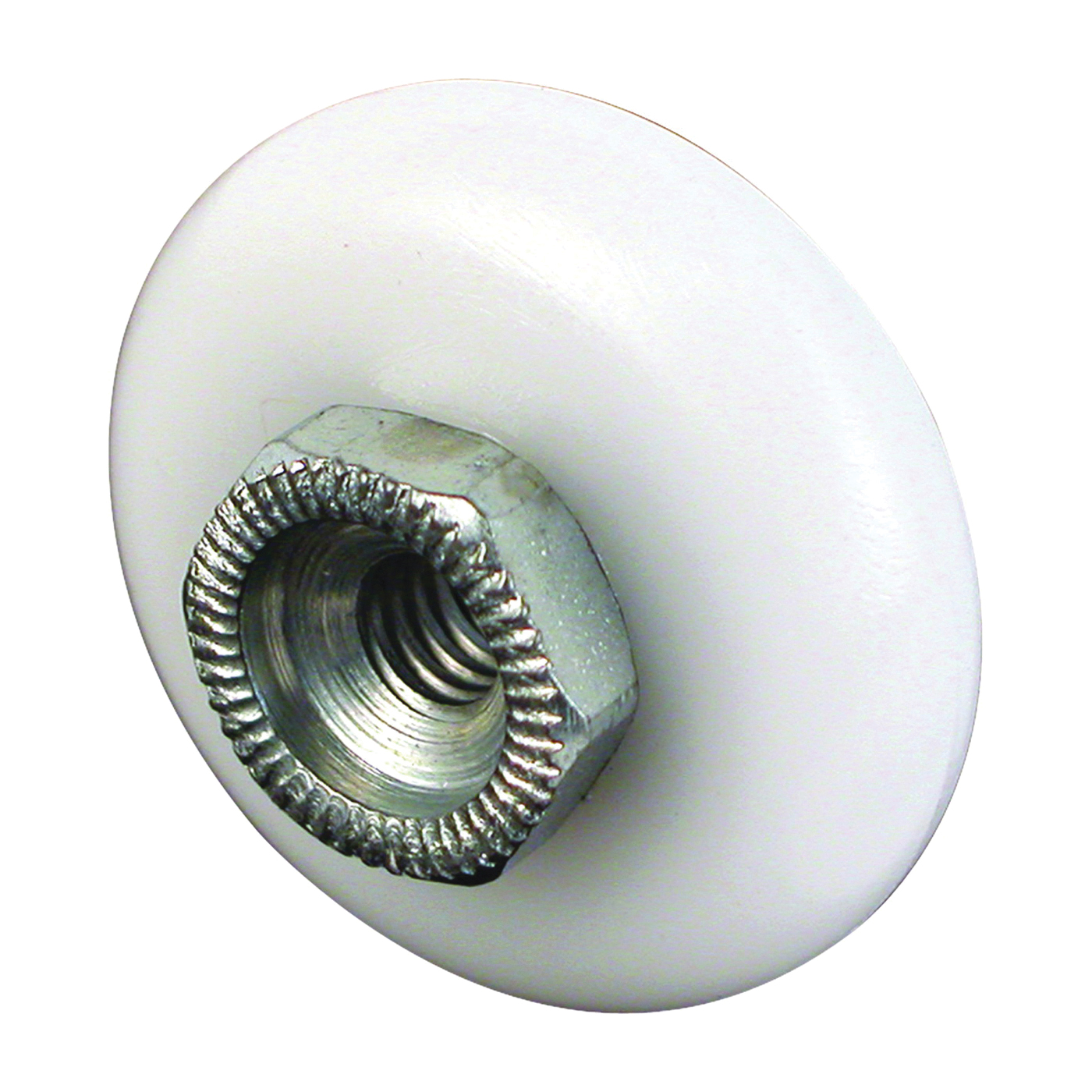 Picture of Prime-Line M 6000 Shower Door Roller, Plastic, White, For: Glass Up to 5/16 in Thickness, Shower Door