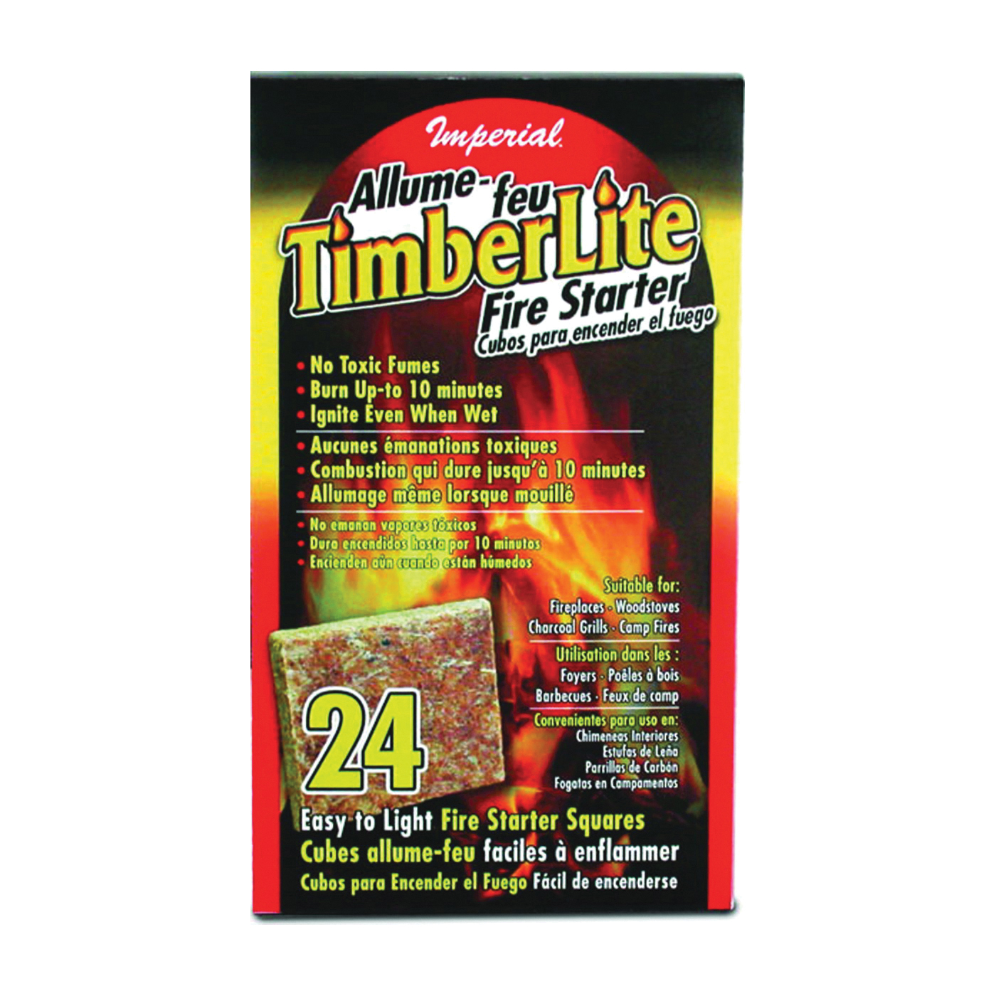 Picture of Imperial KK0312 Fire Starter Square Carton, Carton