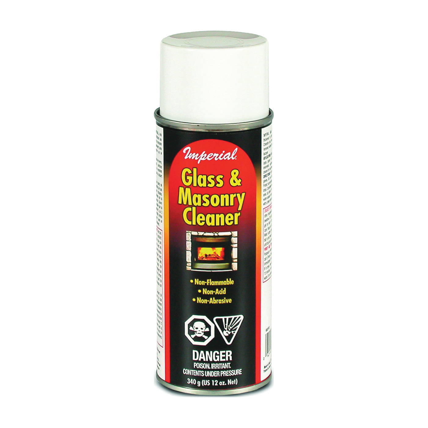 Picture of Imperial KK0331 Glass and Masonry Cleaner, Liquid, Yellow, 12 oz Package, Bottle