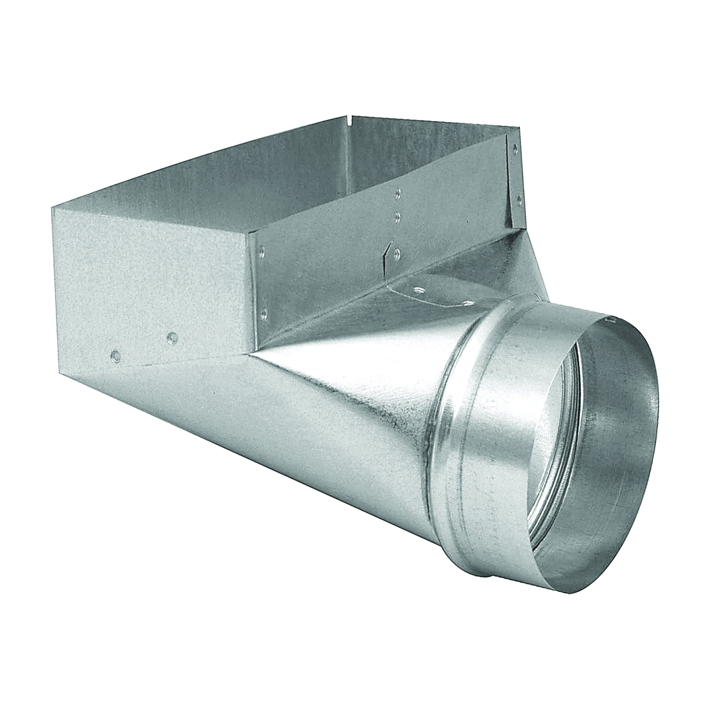Picture of Imperial GV0613 Angle Boot, 3-1/4 in L, 10 in W, 5 in H, 90 deg Angle, Steel, Galvanized