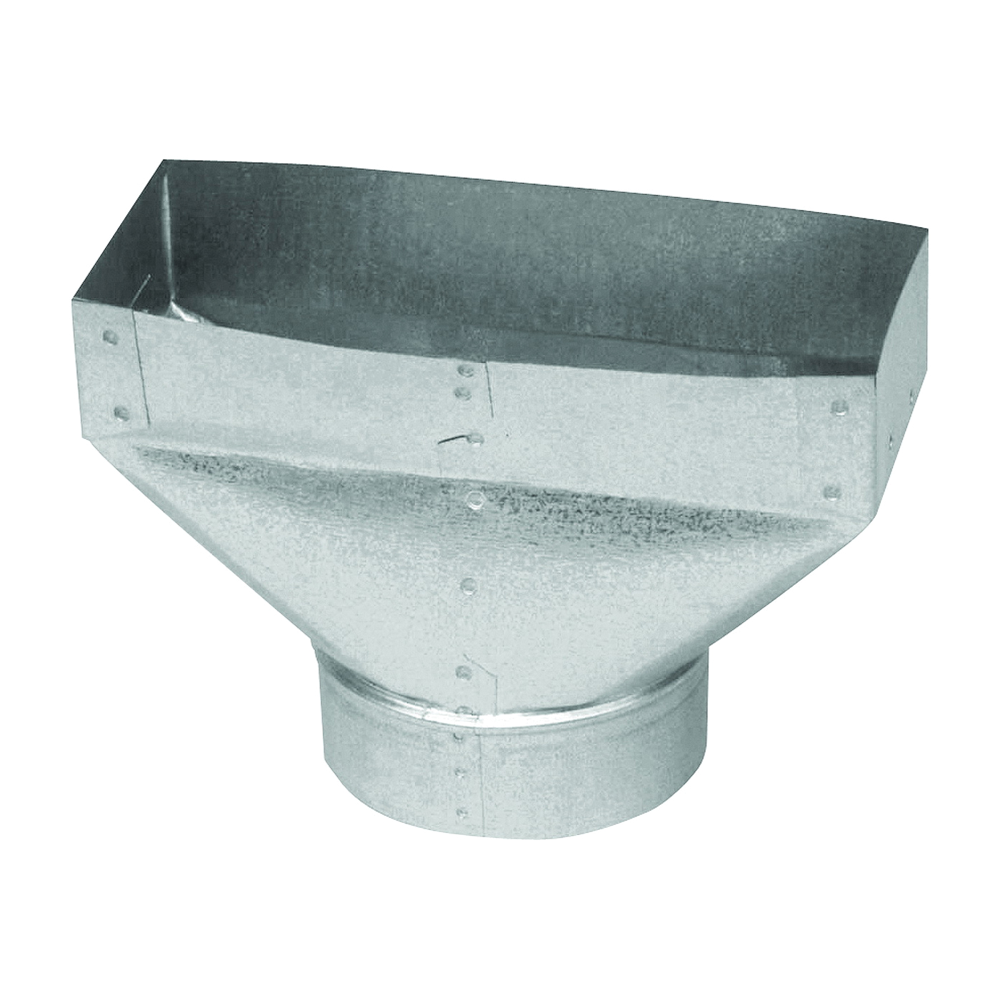 Picture of Imperial GV0701 Universal Boot, 3 in L, 10 in W, 6 in H, Steel, Galvanized