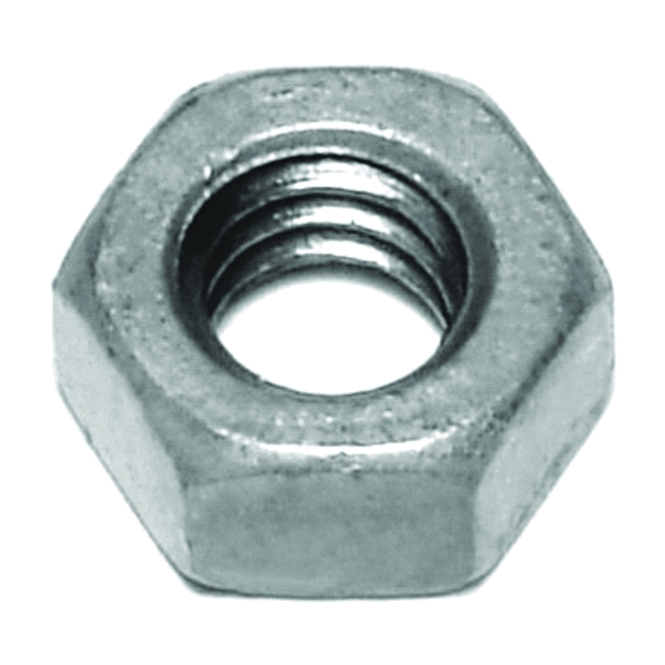 Picture of MIDWEST FASTENER 05615 Hex Nut, Coarse Thread, 1/4-20 in Thread, Galvanized