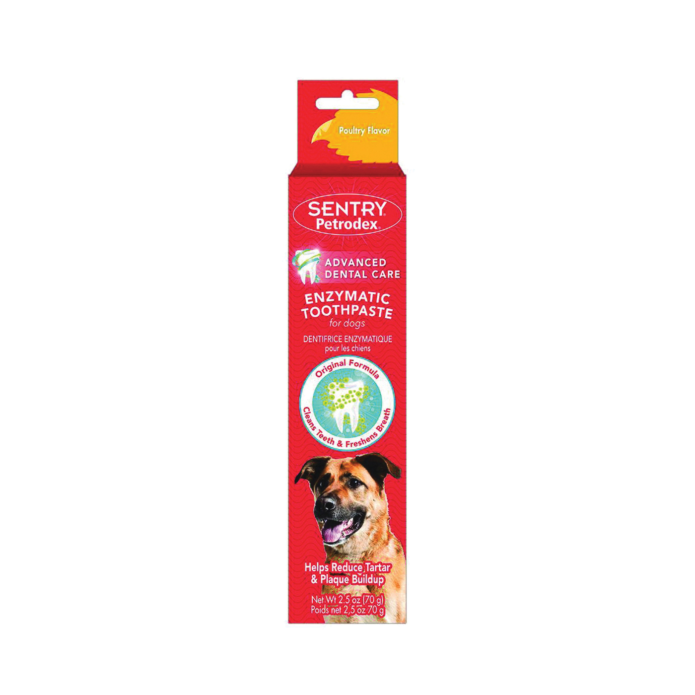 Picture of Sergeant's 51101 Dog Toothpaste, Paste, 2.5 oz Package, Tube