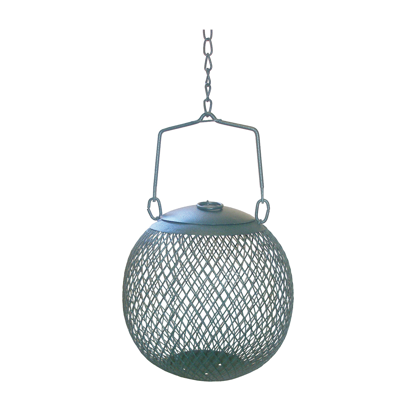 Picture of Perky-Pet NO/NO GSB00344 Wild Bird Feeder, 1.12 lb, Metal, Green, 5.7 in H