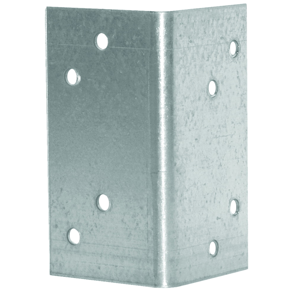 Picture of MiTek A3-TZ Framing Angle, 1-7/16 in W, 1-7/16 in D, 2-3/4 in H, Steel, Zinc