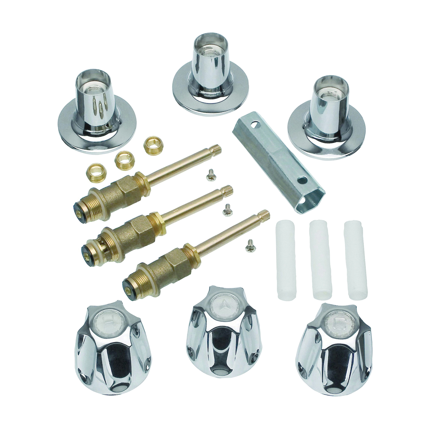 Picture of Danco 39619 Tub/Shower Remodeling Kit, Chrome