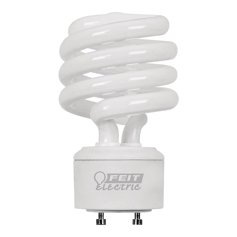 Picture of Feit Electric BPESL23TM/GU24 Compact Fluorescent Light, 23 W, A19 Spiral Lamp, GU24 Twist and Lock Lamp Base