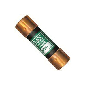 Picture of Bussmann BP/NON-45 Cartridge Fuse, 45 A, 250 VAC/125 VDC, 50 kA Interrupt, Melamine Body, 10, Blister