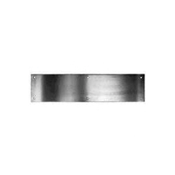 Picture of Schlage C8400PA28 6X34 Kick Plate, 34 in L, 6 in W, Aluminum, Anodized