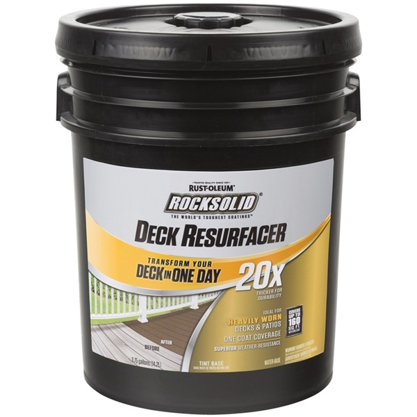 Picture of RUST-OLEUM 300083 Deck Resurfacer, Liquid, 4 gal Package