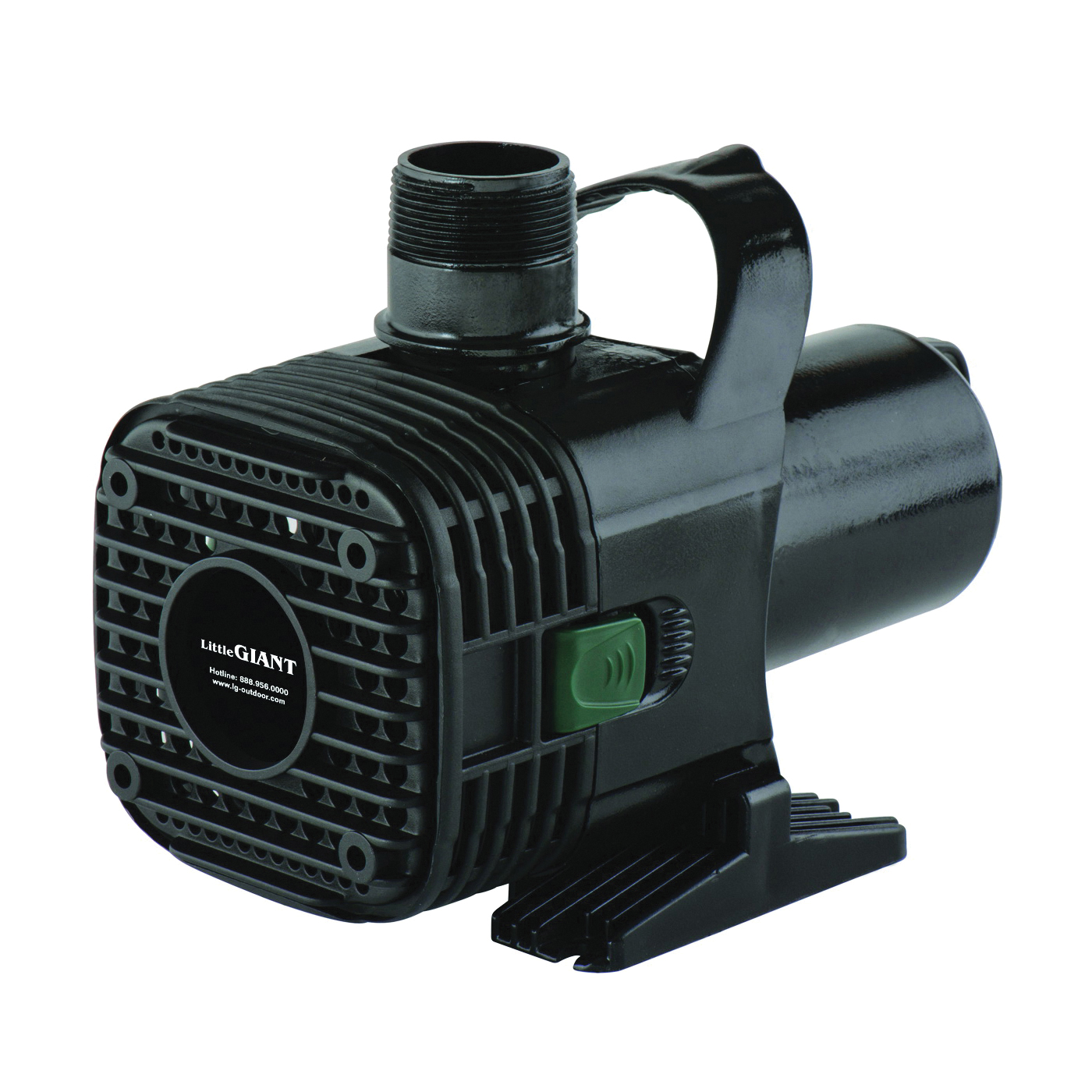 Picture of Little Giant 566725 Wet Rotor Pump, 1.25 A, 115 V, 1/2 in Connection, 2772 gph, Horizontal, Vertical Mounting