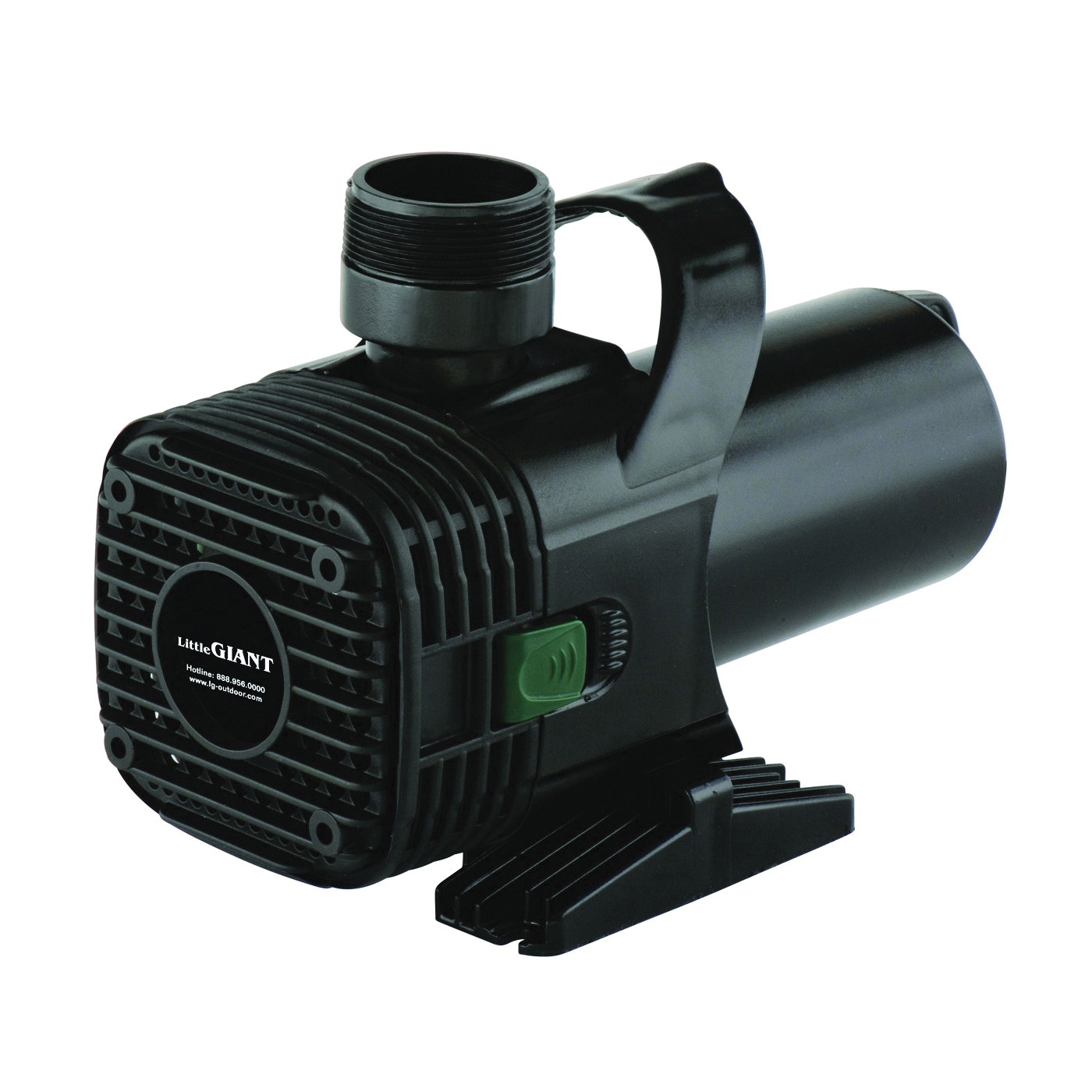 Picture of Little Giant 566727 Wet Rotor Pump, 3 A, 115 V, 2 in Connection, 5550 gph, Horizontal, Vertical Mounting