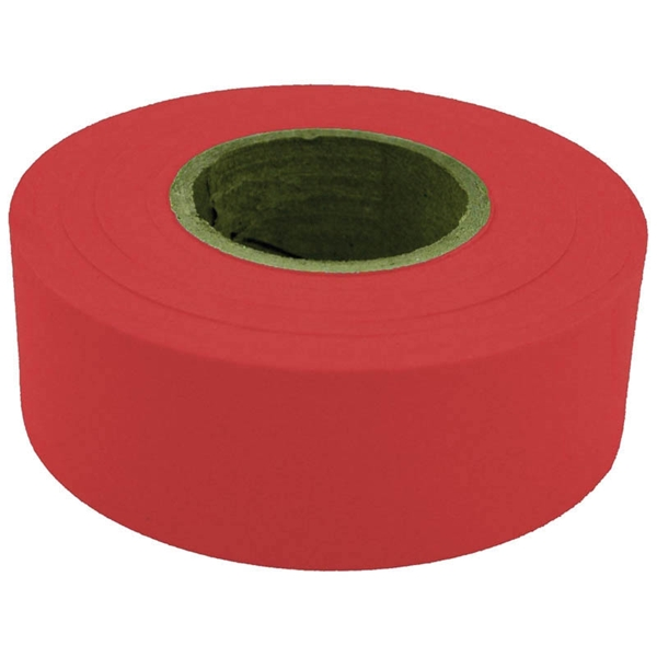 Picture of CH Hanson 17021 Flagging Tape, 300 ft L, 1-3/16 in W, Red, Polyethylene