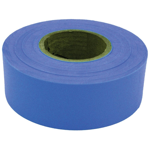 Picture of CH Hanson 17023 Flagging Tape, 300 ft L, 1-3/16 in W, Blue, Polyethylene