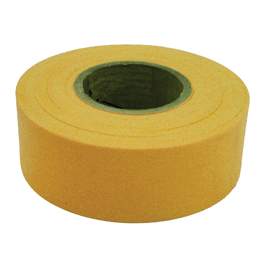 Picture of CH Hanson 17024 Flagging Tape, 300 ft L, 1-3/16 in W, Yellow, Polyethylene