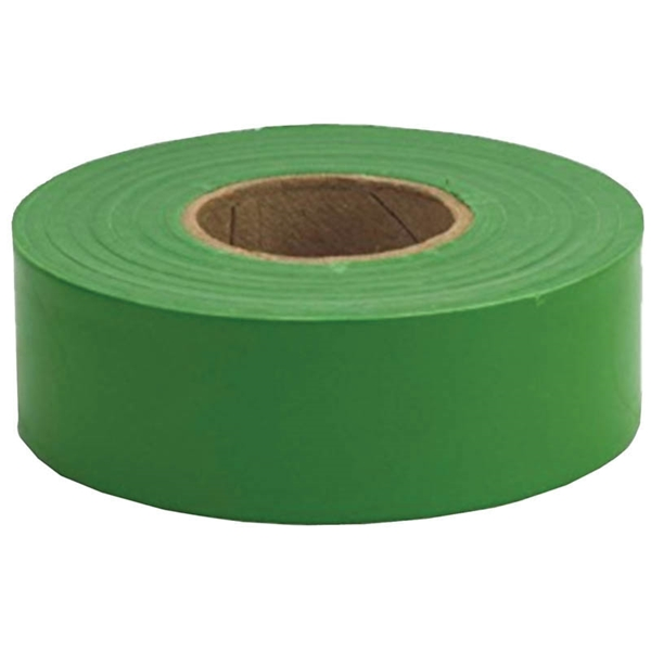Picture of CH Hanson 17026 Flagging Tape, 300 ft L, 1-3/16 in W, Green, Polyethylene