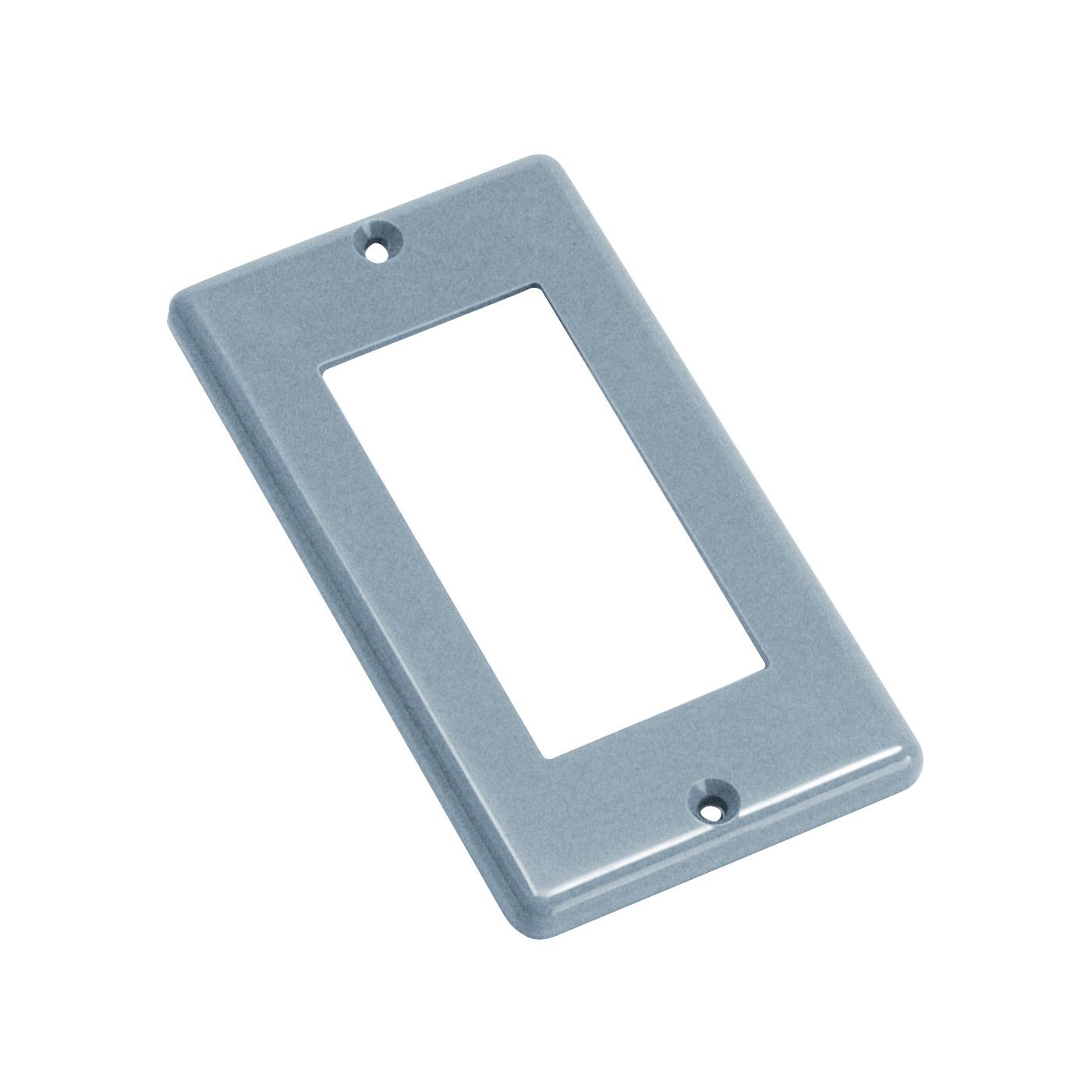 Picture of Carlon HB1GF Handy Box Cover, 4-5/16 in L, 2-3/8 in W, Polycarbonate, Gray